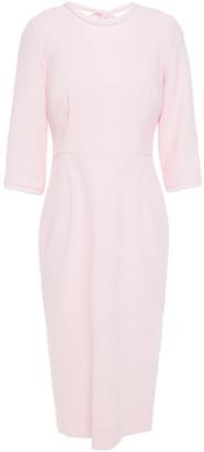 Goat Jerry Cutout Wool-crepe Midi Dress