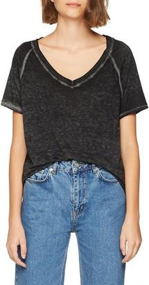 Mavi Jeans Women's V Neck TOP T-Shirt