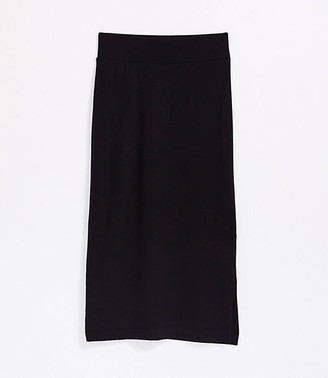 LOFT Lou & Grey Signature Softblend Lite Midi Skirt
