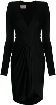 Alexandre Vauthier Asymmetric Fitted Dress