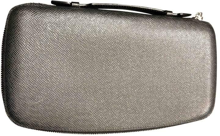 Louis Vuitton Black Leather Purses, wallets & cases