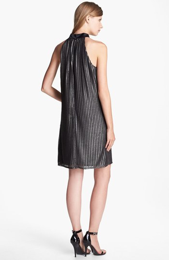 Laundry by Shelli Segal Foiled Dress