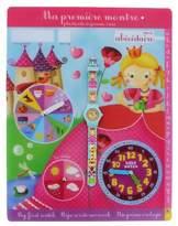 Baby Watch Baby Abc Watch Petite Reine-Girls'Watch Digital Quartz way 6 Years Yellow Plastic Strap Blue Dial
