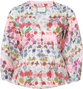Alexis watercolor print shirt