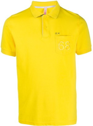 Sun 68 68 Patch Pocket Polo Shirt