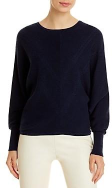 T Tahari Rib & Cable Knit Sweater