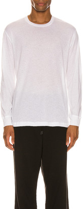 Wardrobe NYC Long Sleeve T-Shirt in White | FWRD