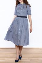 FRNCH Polka Dot Shirt Dress