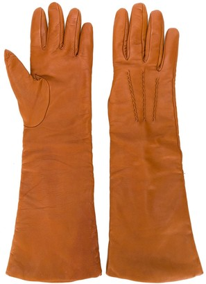 P.A.R.O.S.H. three-quarter length gloves