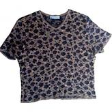 Saint Laurent Leopard print Top