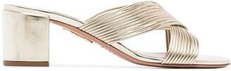 Aquazzura Perugia 50mm sandals