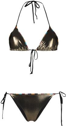 Missoni Mare Reversible Metallic Bikini