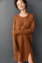 BDG Front Slit Dolman Sweater Tee Dress