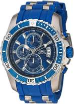 Invicta Men's 'Pro Diver' Quartz Stainless Steel and Polyurethane Casual Watch, Color: (Model: 22429)