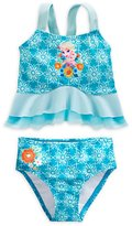 Disney Girls Elsa Deluxe Swimsuit (7/8)