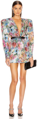 DANIELE CARLOTTA Mini Dress in Flowers | FWRD