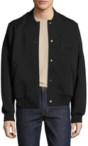 Balenciaga Solid Stand Collar Jacket