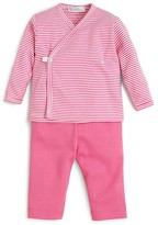 Kissy Kissy Infant Girls' Wrap-Front Tee & Pants - Sizes 0-9 Months
