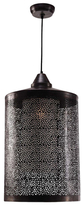 Kenroy Home Elijah 1-Light Pendant: