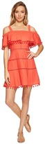 Red Carter Aster Dress