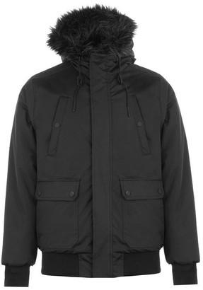 Fabric Plain Bomber Jacket
