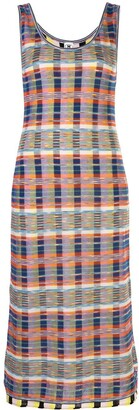M Missoni Check Print Dress