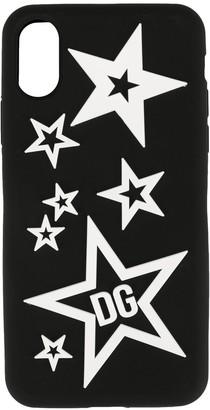 Dolce & Gabbana star print iPhone X/XS cover