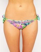 Baku Chi Chi Print Tie Side Bikini Bottom