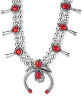 American West Coral Statement Necklace (27-1/5 ct. t.w.) in Sterling Silver