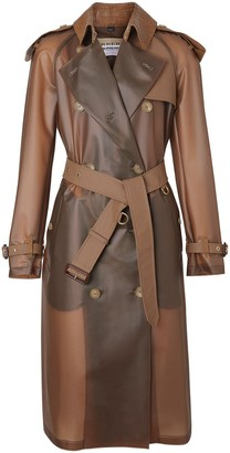 Burberry Double-Breasted Belted Trench Coat