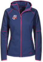 L.L. Bean L.L.Bean ProStretch Fleece Hooded Jacket, U.S. Ski Team