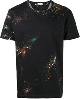 Valentino firework print t-shirt - men - Cotton - L