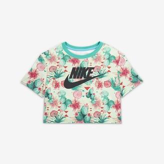 Nike Women's Cropped T-Shirt Sportswear N7