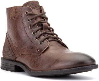 Vintage Foundry Men's Zion Mixed Leather Combat Boots