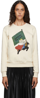 Lanvin Off-White Babar Edition King Sweatshirt