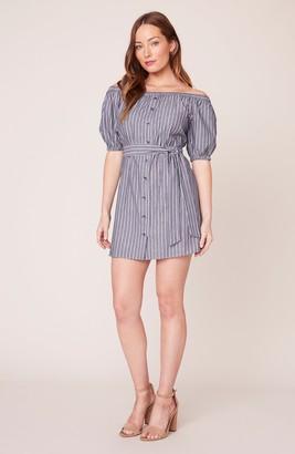 BB Dakota Shoulder Weather Off-The-Shoulder Dress