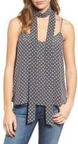 AG Jeans Women's Lisette Cotton Tank & Scarf