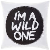 Hiccups I'm A Wild One Black Cushion