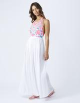 Accessorize Ciara Embroidered Maxi Dress