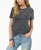 Hybrid Juniors' High-Low Burnout T-Shirt