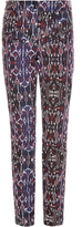 Isabel Marant Nella high-waisted geometric-print jeans