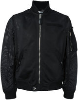 Givenchy mesh bomber jacket - men - Cotton/Polyamide/Spandex/Elastane - 48