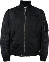 Givenchy mesh bomber jacket