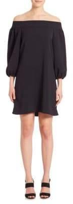 Tibi Off-The-Shoulder Dress