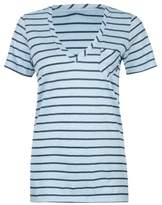 Vans Womens Basic Stripe Graphic T-Shirt 117 S