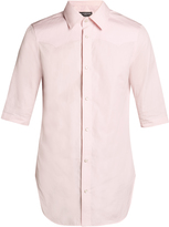Balenciaga Short-sleeved slim-fit shirt