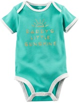 "Carter's Baby Girl ""Daddy's Little Sunshine"" Graphic Bodysuit"