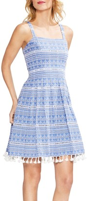 Vince Camuto Broderie Anglaise Sundress