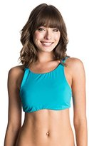 Roxy Women's Sunset Paradise Halter Crop Bikini Top