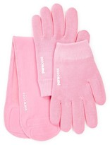 Pure Code Moisturizing Gel Gloves & Neck Wrap Gift Set - Pink